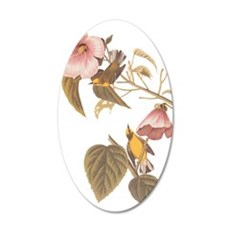 Audubon Blue Winged Yellow Wall Decal
