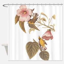 Audubon Blue Winged Yellow Warbler Shower Curtain