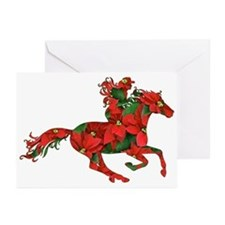 Christmas Horse Rider Greeting Cards (Pk of 10)