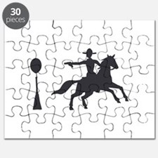 COWBOY MOUNTED SHOOTING Puzzle
