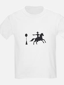 COWBOY MOUNTED SHOOTING T-Shirt
