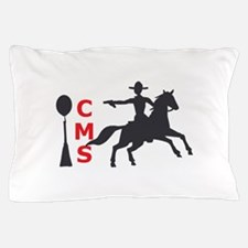 MOUNTED SHOOTING CMS Pillow Case