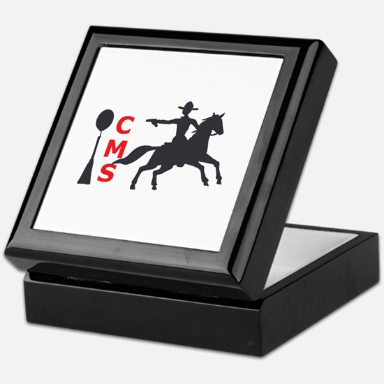 MOUNTED SHOOTING CMS Keepsake Box