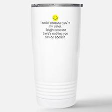 Unique Sister Travel Mug