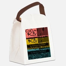Cute Real madrid Canvas Lunch Bag