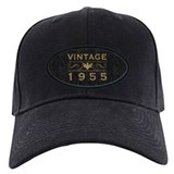 Birthday vintage model year baseball 1955 Black Hat