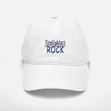 Firefighters Rock Baseball Baseball Cap