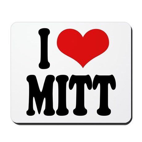 I Love Mitt Mousepad