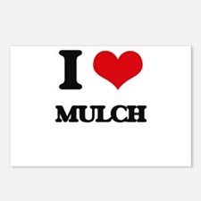 I Love Mulch Postcards (Package of 8)