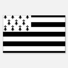 Brittany flag Bumper Stickers