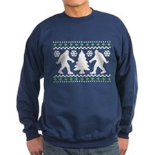 Ugly Holiday Bigfoot Christmas Sweater Sweatshirt