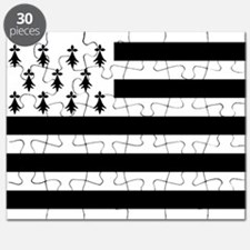 Brittany flag Puzzle