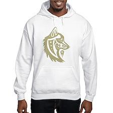 Wolf Tribal Hoodie