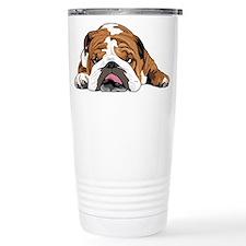 Cute Lazy dog Stainless Steel Travel Mug