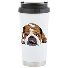 Cute Bulldogs Travel Mug