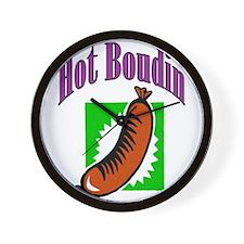 Hot Boudin Wall Clock