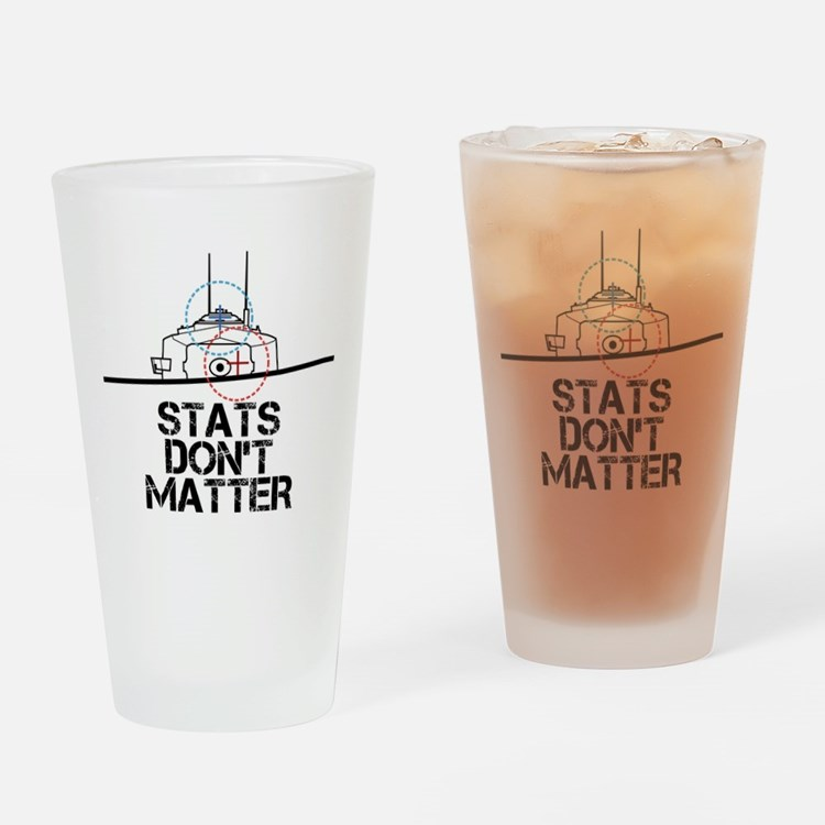 Cute Stats Drinking Glass