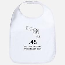 pistol semi automatic Bib