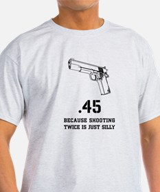 Semi Automatic Pistolt T-Shirt