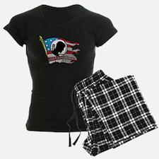POW MIA Not Forgotten Flag Pajamas