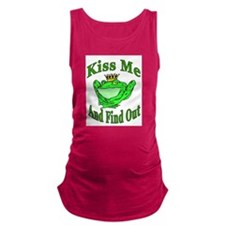 Kiss The Frog Maternity Tank Top