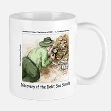 Debt Sea Scrolls Mugs