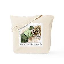 Debt Sea Scrolls Tote Bag
