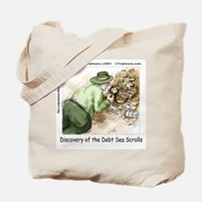Debt Sea Scrolls Tote Bag