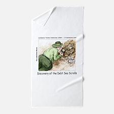 Debt Sea Scrolls Beach Towel