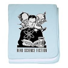 Read Science Fiction Vintage baby blanket