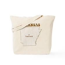 Vintage Toad Suck, Arkansas Tote Bag