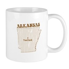 Vintage Toad Suck, Arkansas Mugs