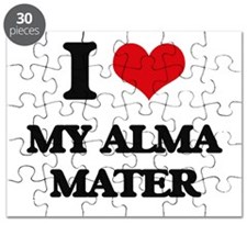 I Love My Alma Mater Puzzle