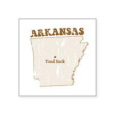 Vintage Toad Suck, Arkansas Sticker