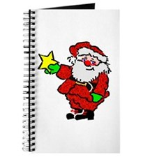 Santa Claus with Star Journal