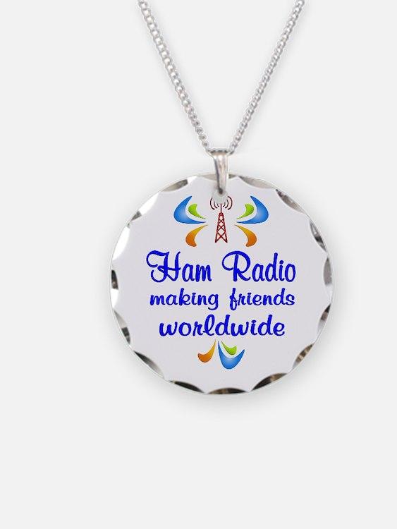 Ham Radio Worldwide Necklace