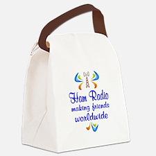 Ham Radio Worldwide Canvas Lunch Bag