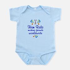 Ham Radio Worldwide Infant Bodysuit
