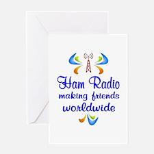 Ham Radio Worldwide Greeting Card