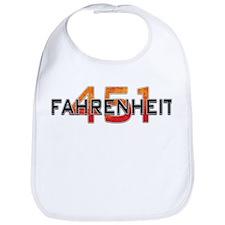 Fahrenheit 451 Logo Bib