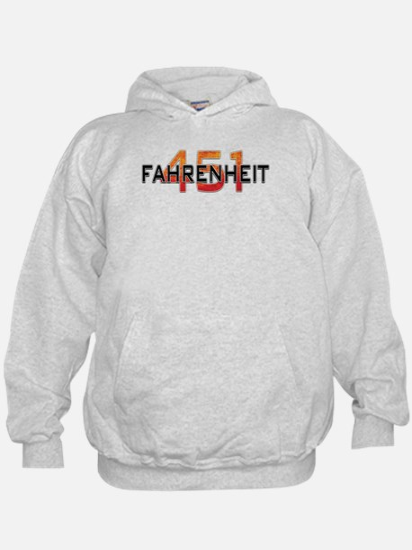 Fahrenheit 451 Logo Hoodie
