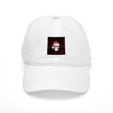 Santa Skull Baseball Baseball Cap