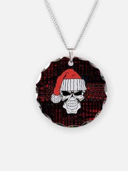 Santa Skull Necklace
