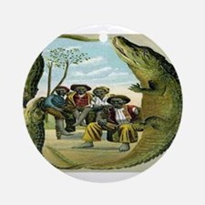 Alligator Hunters Ornament (Round)