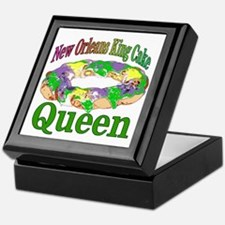 King Cake Queen Keepsake Box
