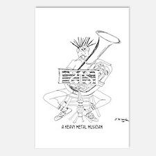 Heavy Metal Cartoon 4609 Postcards (Package of 8)
