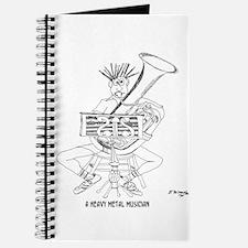 Heavy Metal Cartoon 4609 Journal