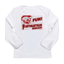 Pontchartrain Beach Clown Long Sleeve T-Shirt