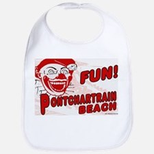 Pontchartrain Beach Clown Bib