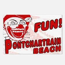 Pontchartrain Beach Clown Postcards (Package of 8)